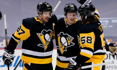 Pittsburgh Penguins, Kris Letang, Jake Guentzel, Sidney Crosby