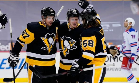 Pittsburgh Penguins, Kris Letang, Jake Guentzel, Sidney Crosby