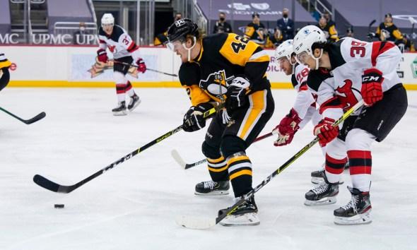 Pittsburgh Penguins, Kasperi Kapanen New Jersey Devils