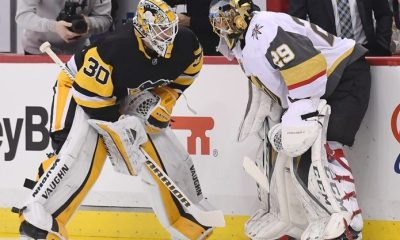 Pittsburgh Penguins Matt Murray Marc-Andre Fleury