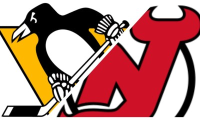 Pittsburgh Penguins score vs. New Jersey Devils
