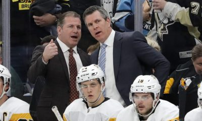 Pittsburgh Penguins Mark Recchi Mike Sullivan