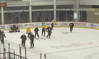 Pittsburgh Penguins lines, practice