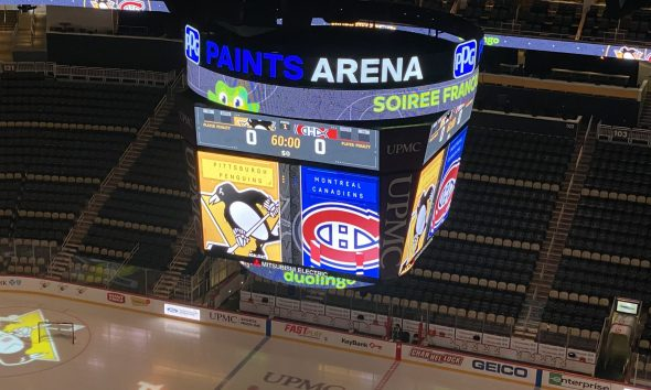 Pittsburgh Penguins Game vs. Montreal Canadiens