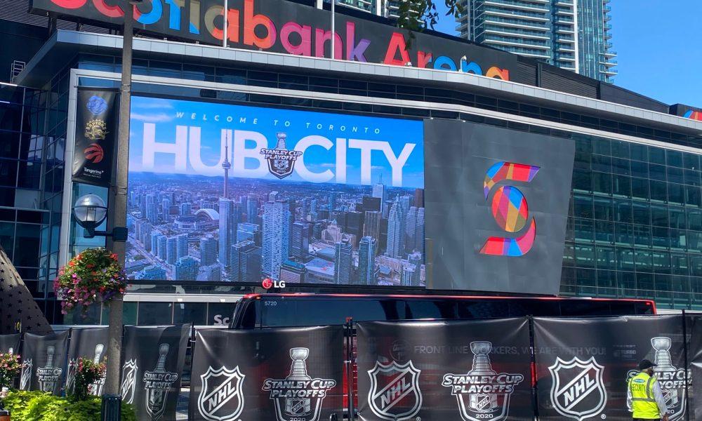 2020-21 NHL Season Hub Cities