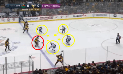 Sidney Crosby Pittsburgh Penguins Power Play Goal