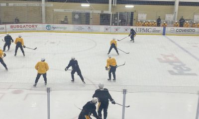 Pittsburgh Penguins practice