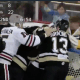 Emil Larmi Pittsburgh Penguins goalie fight