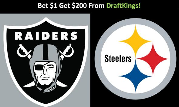 Pittsburgh Steelers bets, Las Vegas Raiders