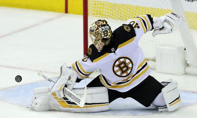Tuukka Rask, Boston Bruins: Photo from Iconsportswire