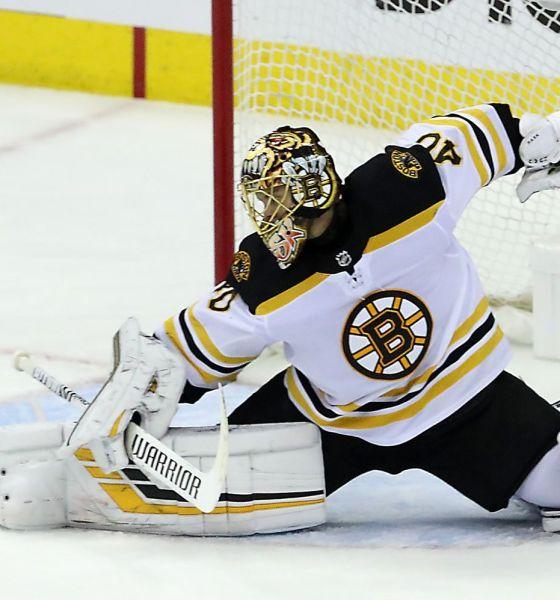 Tuukka Rask, Boston Bruins: Photo from Iconsportswire