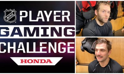 Bryan Rust Zach Aston-Reese NHL Gaming Challenge