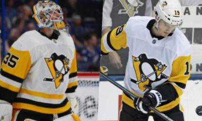 Pittsburgh Penguins, Tristan Jarry, Jared McCann