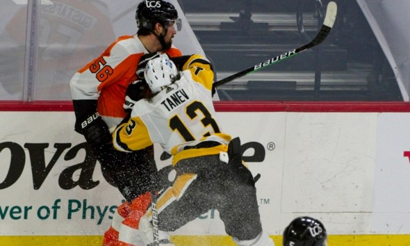 Brandon Tanev, Pittsburgh Penguins, Philadelphia Flyers