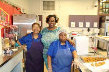 Rashida Denk and her staff at Greenfield Elementary School