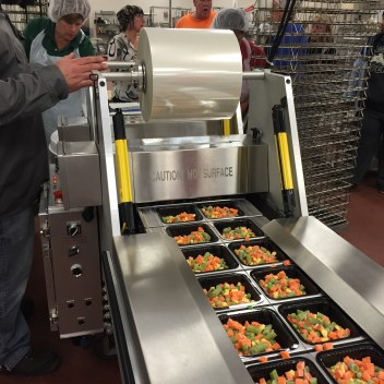 New Packing Line at Food Service Center