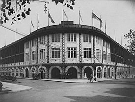 Forbes Field.