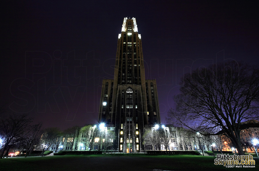 The University of Pittsburgh's Cathedral of Learning in Oakland