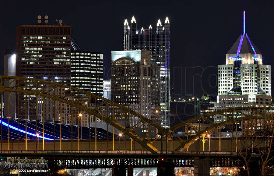 16th Street Bridge and skyline
