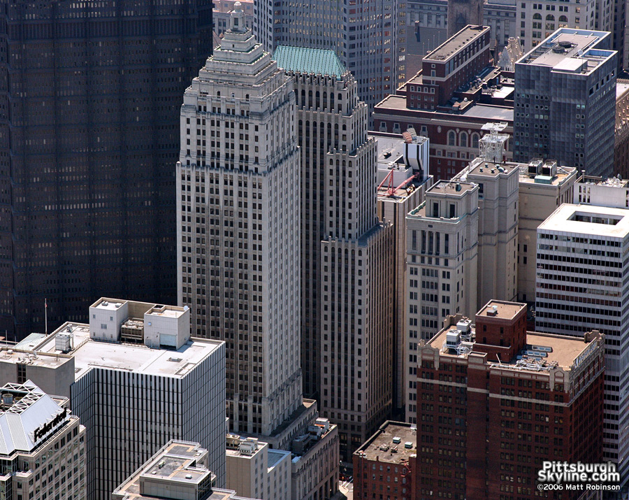 Aerial of the Gulf Building