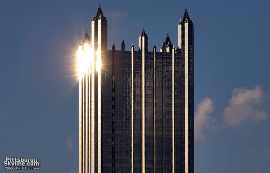 Gleaming PPG Place