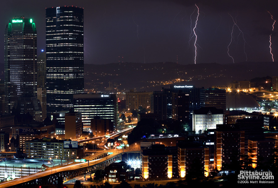 Lightning from Grandview Park