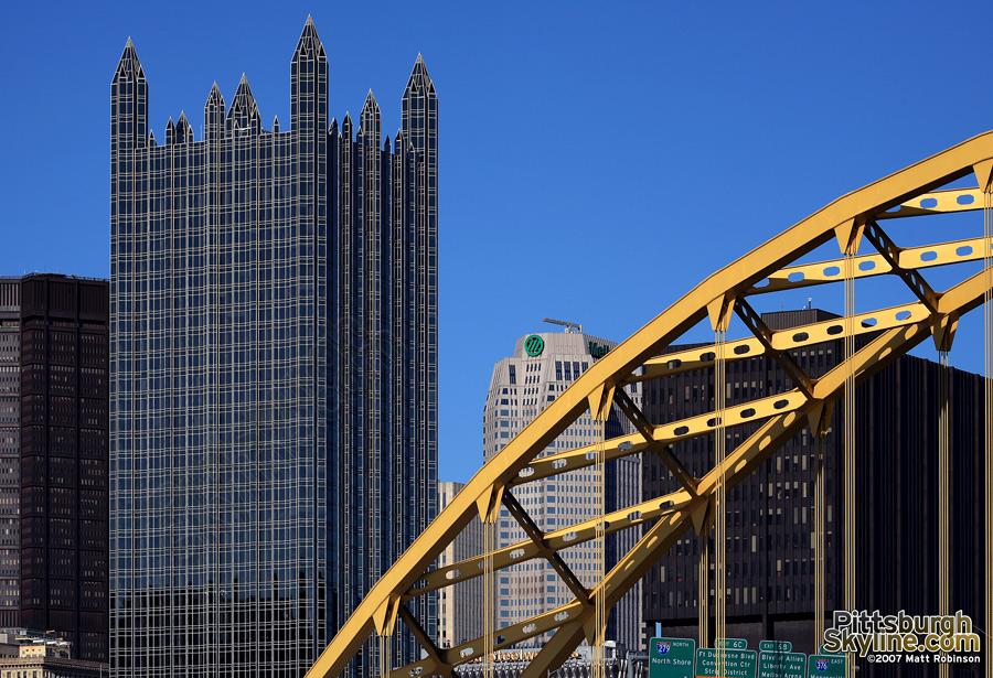 Fort Pitt Bridge and PPG