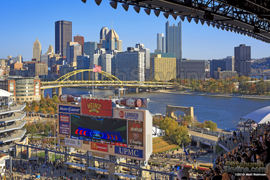 Pittsburgh Skyline from Heinz Field