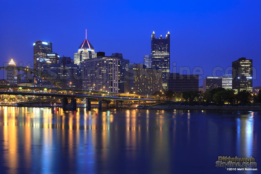 October cityscape