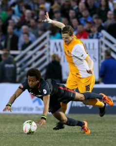 Danny Earls and the Hounds showed character on April 12 in Fenton, MO in 1-1 tie vs St. Louis FC.