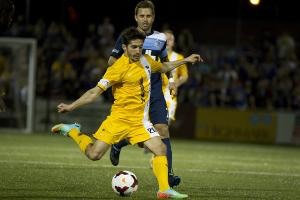 Matt Dallman had a full week of training with the Riverhounds, and may make his 2015 debut on Saturday.