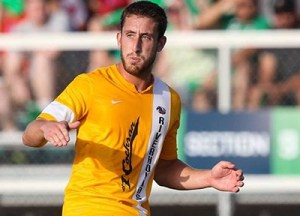 Anthony Arena redeemed an early miscue to give the Riverhounds the equalizer in the 55th minute on Saturday.