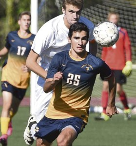Jamison Beiriger and Central Catholic are among the teams that are chasing a WPIAL title.   (Photo courtesy of Pittsburgh Tribune-Review)