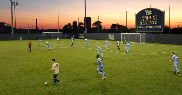 Pitt Men's soccer vs UNC 9 9 17