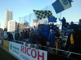 The Steel Army weathered the elements, and were rocking Highmark Stadium in frigid 2015 home opener (March 2015)