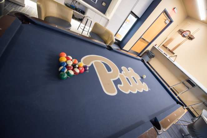 Pitt Pool Table (Photo credit: Dave DiCello)