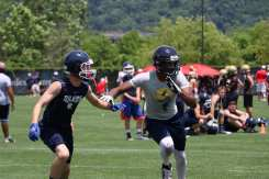 WR/CB battle for position at Pitt's 7x7 Camp