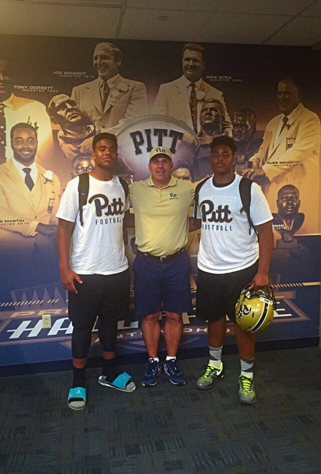 Darius Stills at Pitt Football Camp - Photo courtesy of Darius Stills