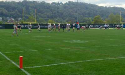 Pitt practice 8/31/2016(Photo credit: Alan Saunders)