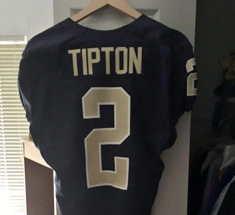 Tre Tipton #2 Pitt Jersey