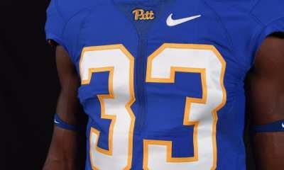 Pitt throwback jersey