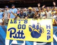 Pitt Fans September 10, 2016 (Photo credit: David Hague)