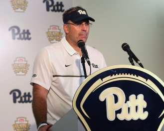 Pat Narduzzi Press Conference September 10, 2016 (Photo credit: David Hague)