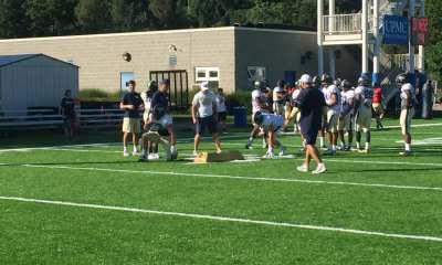 Pitt RBs at Practice (Photo credit: Alan Saunders)