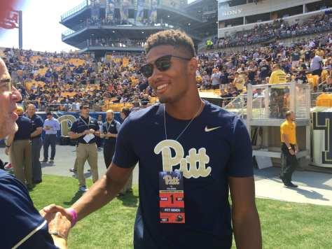 Former Pitt WR Tyler Boyd (Photo credit: Mike Vukovcan)