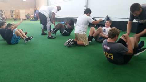 In-season training - Photo courtesy of Pro E.D.G.E.