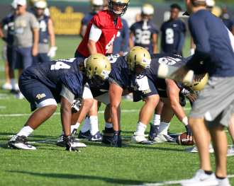 Pitt Lineman August 1, 2017 (Photo by David Hague)