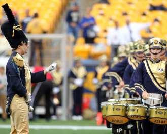 Pitt Drum Line September 2, 2017 -- David Hague