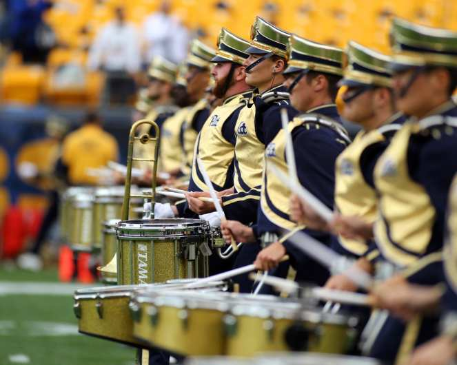 Pitt Drum Line September 2, 2017 -- David Hague