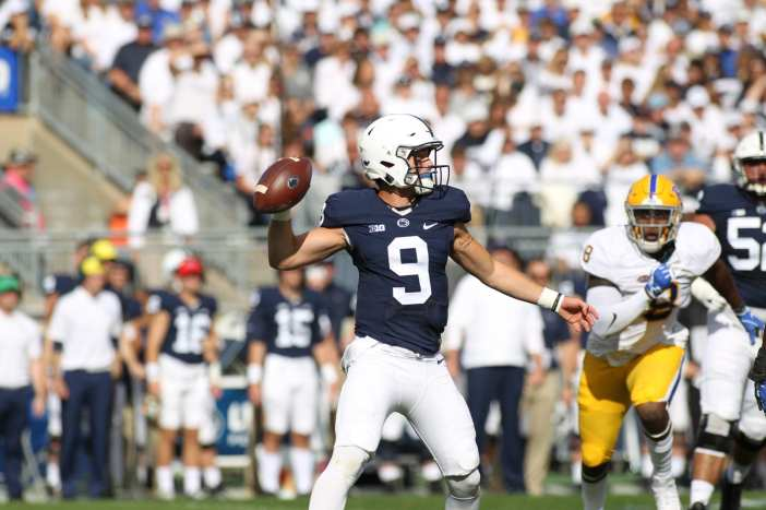 Trace McSorley September 9, 2017 -- David Hague